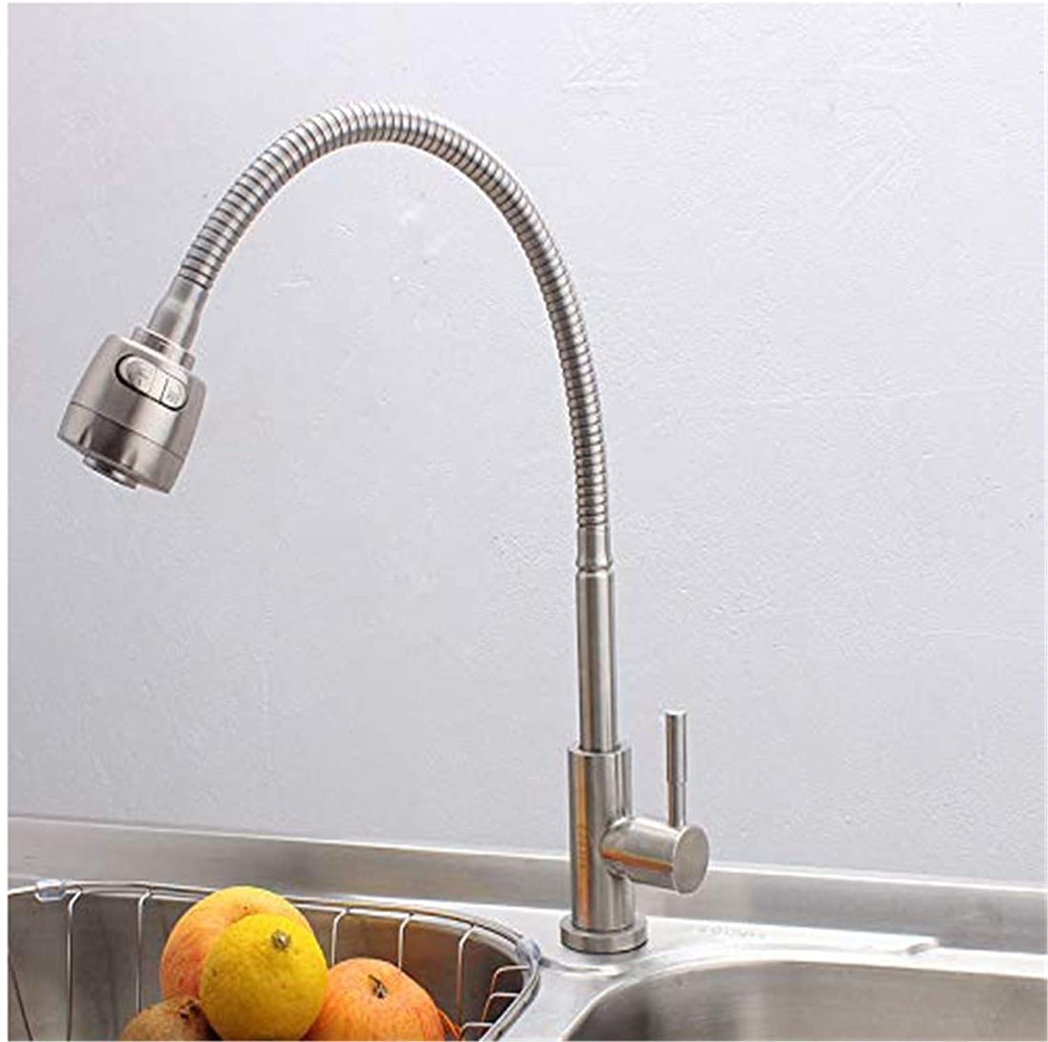 Modern Double Basin Sink Hot and Cold Water Faucet56Qsgv2K