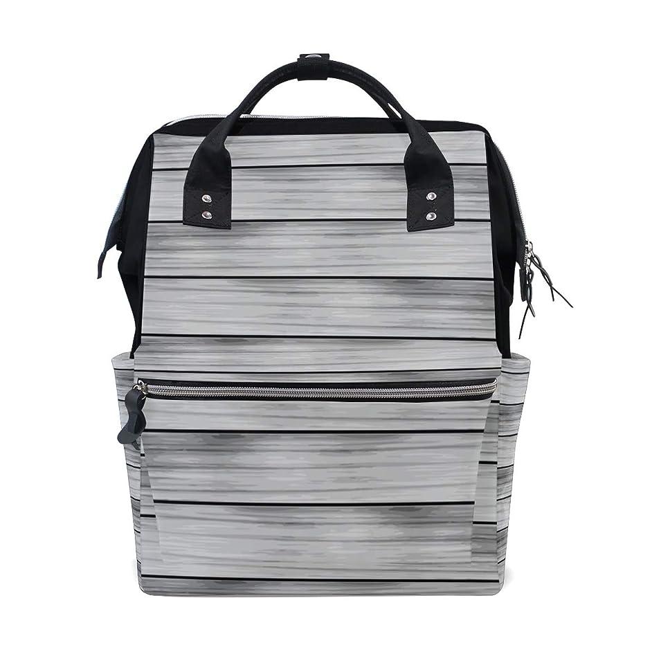 Abstract Gray Hardwood Planks Pattern School Backpack Large Capacity Mummy Bags Laptop Handbag Casual Travel Rucksack Satchel For Women Men Adult Teen Children