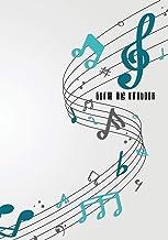 Guitar Tabs Notebook: Blank Guitar Tabs paper, Standard Staff & Tablature Featuring Twelve 6-Line Tablature Staves Per Pag...
