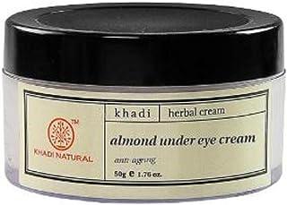 Khadi Natural Almond Under Eye Creme, 50g