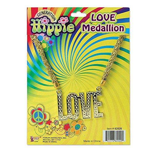 """Bristol Novelty BA1080 Collier """"Love"""" Hippie"""