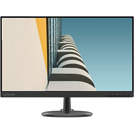 """Lenovo C24-25 Monitor, Display 23.8"""" Full HD, Bordi ultrasottili, FreeSync, 4ms, 75Hz, HDMI + VGA, Black"""