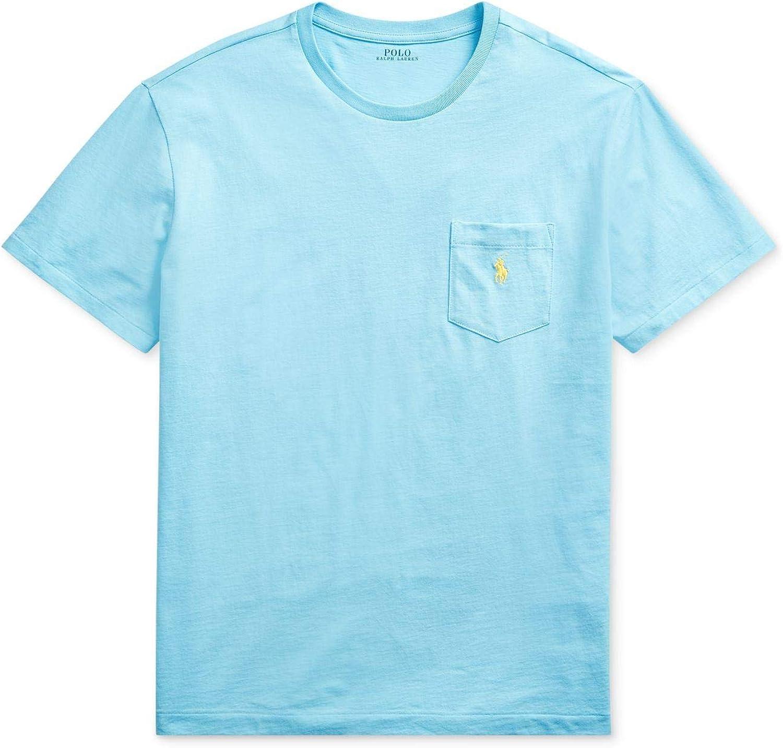 Polo Ralph Lauren Big & Tall Big & Tall 26/1 Jersey Short Sleeve Classic Fit T-Shirt Neptune XLT
