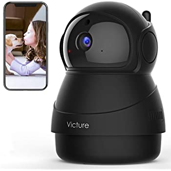 [2020 Upgraded] Victure 1080P Pet Camera, WiFi IP Camera,  Indoor Security Camera for Pet/Baby/Elder, 2.4G Home Camera with Motion  Detection/Night Vision/ 2 Way Audio/Cloud Service, App-Victure Home