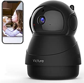[2020 Upgraded] Victure 1080P Pet Camera, Wi-Fi IP Camera, Indoor Security Camera for Pet/Baby/Elder, 2.4G Home Camera wit...