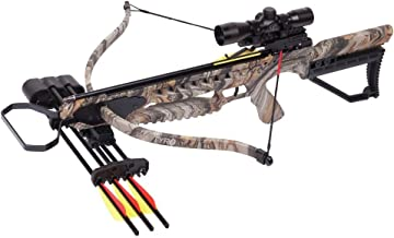 CenterPoint Tyro 4X Crossbow Camo Camouflage- Crossbow Package