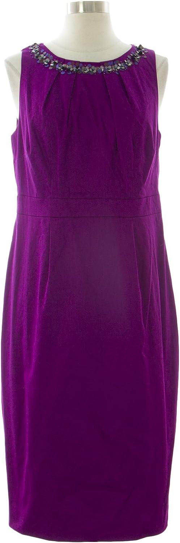 BODEN Women's Knee Length Darcey Dress US Sz 8L Purple