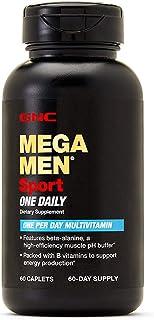 GNC Mega Men Sport One Daily Mens Multivitamin, 60 CAPLETS