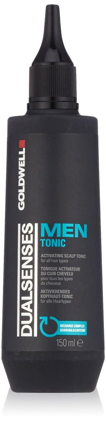 ドーム合唱団天国ゴールドウェル Dual Senses Men Tonic Activating Scalp Tonic (For All Hair Types) 150ml/5oz並行輸入品