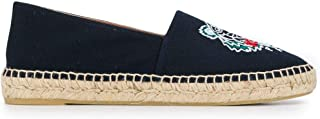 KENZO Luxury Fashion Womens F962ES180F7076 Blue Espadrilles | Season Permanent