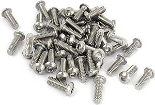 LICTOP Button Head Socket Cap Screws 1/4-20 3/4