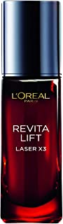 L'Oreal Paris Revitalift Laser X3 Anti-Aging Serum with Hyaluronic Acid + Vitamin Cg + 3% Pro-Xylane Concentrated, 30 ML