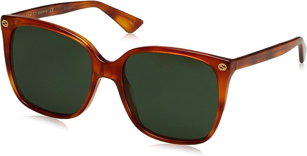 Gucci, occhiali da sole per donna GG0022S 002