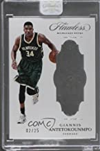 Giannis Antetokounmpo Ungraded Manufacturer Uncirculated #2/25 (Basketball Card) 2016-17 Panini Flawless - [Base] #39