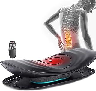 ZZZR Dispositivo de tracción Lumbar eléctrico, masajeador de Cintura y Espalda, Masaje de vibración, Soporte de Columna Lumbar Inteligente, Que Reduce el Dolor Lumbar y de Espalda