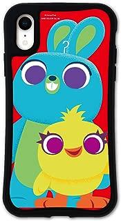 iPhone XR ケース どこでもくっつくケース WAYLLY(ウェイリー) アイフォンXRケース 着せ替え 耐衝撃 米軍MIL規格 [WAYLLY/トイ・ストーリー ダッキー アンド バニー] セット MK