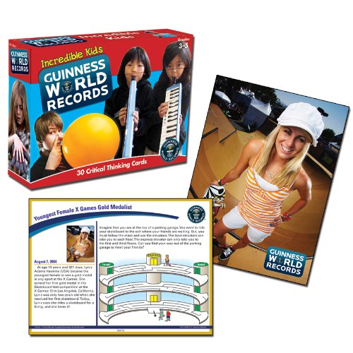 Guinness World Records Incredible Kids Critical Thinking Cards
