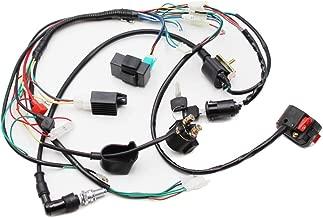 Full Electrics Wiring Harness Coil CDI Spark Plug Kits For 50cc 70cc 90cc 110cc 125cc 140cc ATV Quad Pit Dirt Bike Buggy Go kart