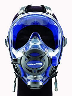 neptune space g divers integrated mask