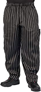 Chalk Stripe Cargo Style Chef Pant