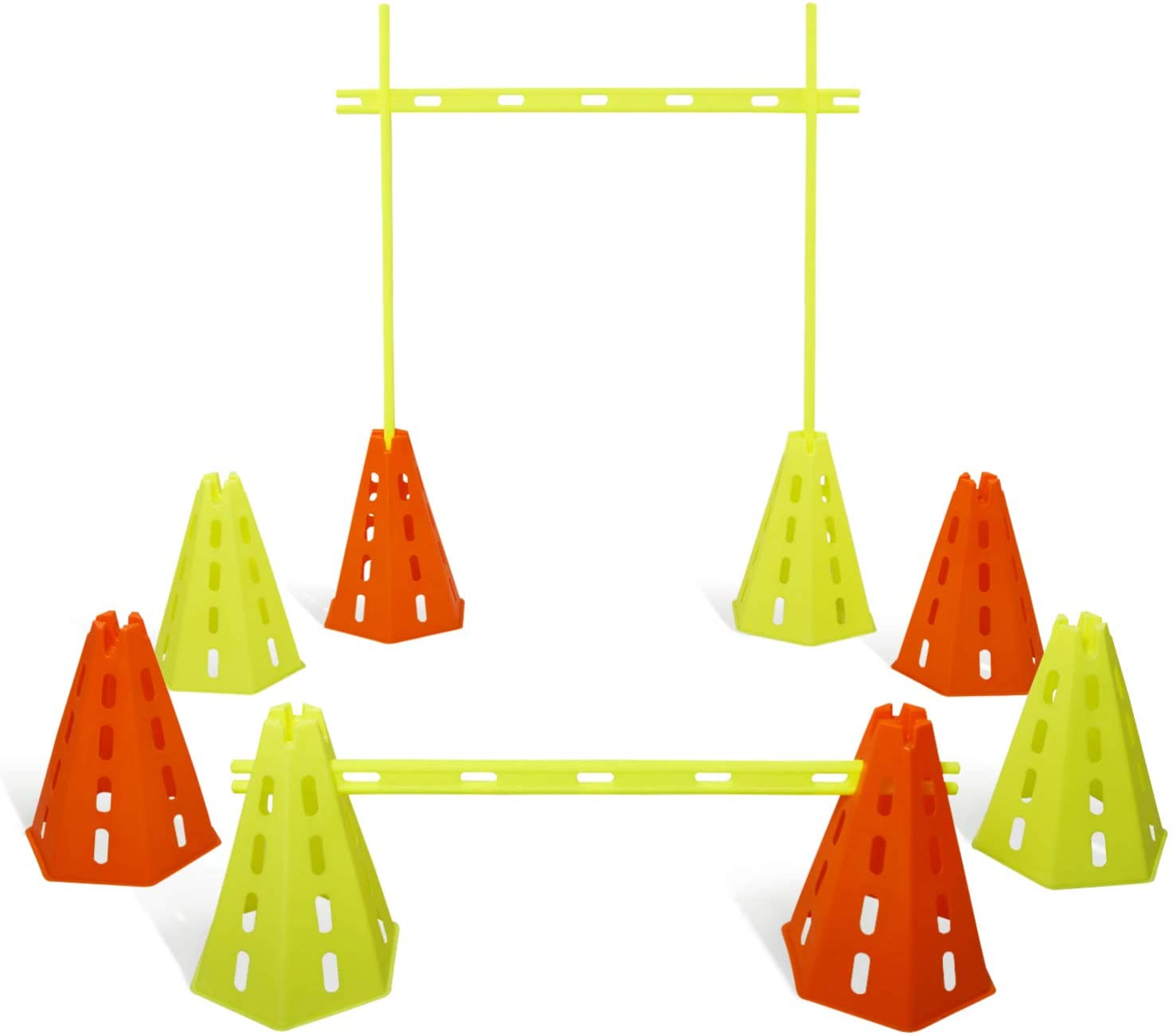Yes4All Speed discount Agility Hurdles Cone free and Balance Set for Exe