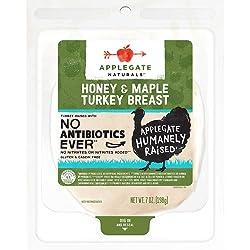 Applegate, Natural Honey & Maple Turkey Breast, 7oz