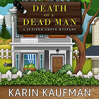 Death of a Dead Man audiobook cover art