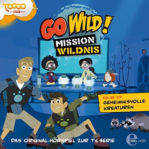 Geheimnisvolle Kreaturen (Go Wild - Mission Wildnis 10) Titelbild