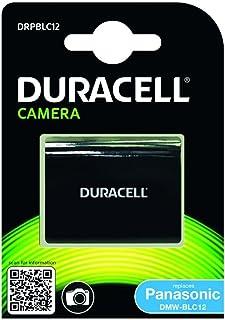 Duracell Replacement Battery Panasonic DMW-BLC12 Camera fits Lumix FZ200, FZ300, FZ1000 Panasonic DMW-BLC12, DMW-BLC12E