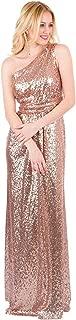 EverLove Women's Sequined Long Bridesmaid Dresses Wedding Party Gown EL-0045