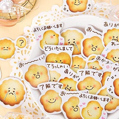 Stickers in doos Gelukskoekjes Handboekagenda albumdecoratiestickers Geschenkdoos geschenkverpakking verzegelingsstickers 90