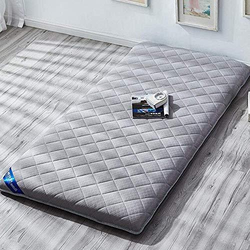 Z&HA Tatami colchón, Plegable Rueda para Arriba un Grueso colchón Suave colchón futón Transpirable Dormir cojín de sueño y Viajes,150x200cm