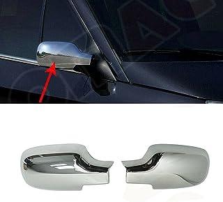 Chromen spiegeldoppen schermen spiegel afdekking bescherming voor Megane II 2004-2010 - Scenic II 2003-2009