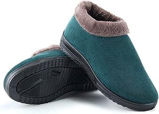 95sCloud Botines para hombre y mujer, zapatillas de estar por casa, botas cálidas, para invierno, cálidas, con cordones, z...