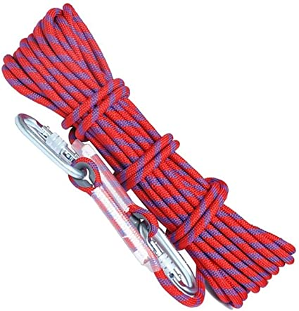 DGLIYJ Cuerda de Seguridad Cuerda de Escalada Cuerda Gruesa ...