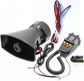 80/W Clacson sirena veicolare Yida utilizzabile come altoparlante 12/V 7/toni con microfono