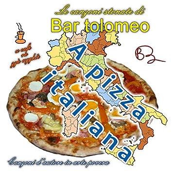 A pizza italiana