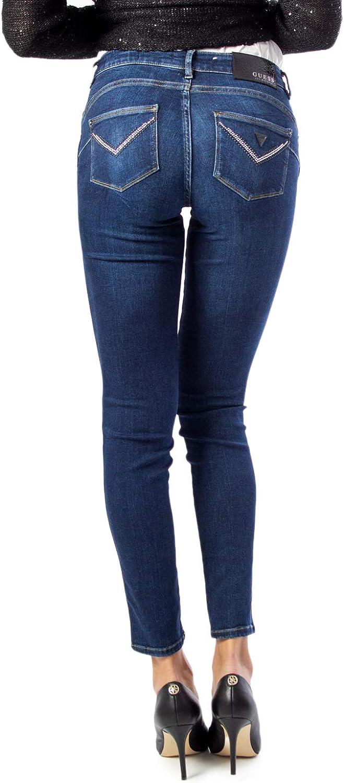 Guess Jeans Femme Ultra Curve w01a37d38r5 Denim Foncé.