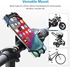 Memo Bike Phone Mount - Universal Smartphone Holder for Bicycle, Scooter, Motorcycle, Stroller Handlebar with Adjustable S...
