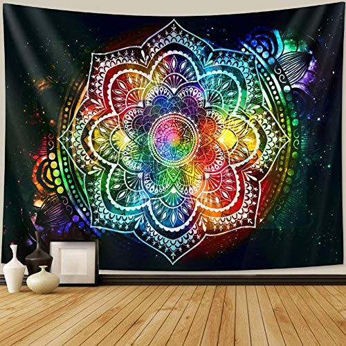 Tapiz Mandala tapiz decoración bohemia decoración del hogar colchón 150x200cm