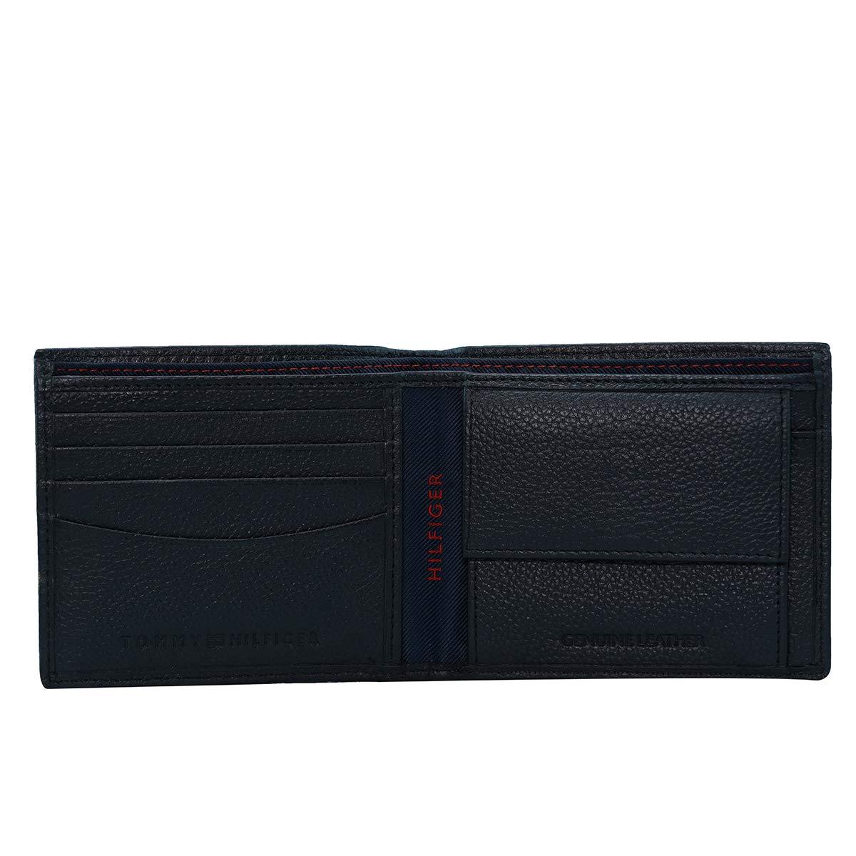 Tommy Hilfiger Black Leather Men's Wallet  8903496150414