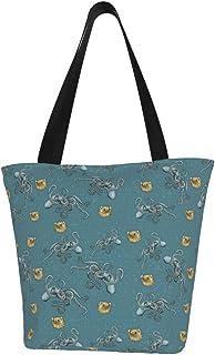 Lesif Einkaufstaschen, Kraken mit salzigem Blau, Segeltuch, Einkaufstasche, wiederverwendbar, faltbar, Reisetasche, groß und langlebig, robuste Einkaufstaschen