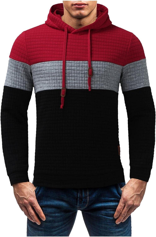Hoodies 5 popular Fort Worth Mall for Men Pullover Men's Sweatshirt Plaid Athletic Waffle