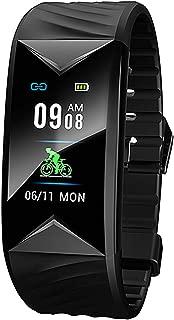 Smart Watch Fitness Tracker Step Counter Calorie Counter Distance Heart Rate Monitor Sports Waterproof Smart Bracelet for Kids Men Women
