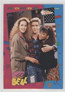 Jessie, Zack, Lisa (Trading Card) 1992 Pacific Saved by the Bell - [Base] #84