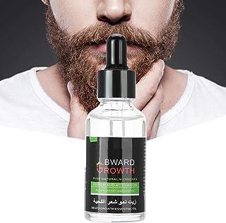 髭ケアオイル、髭オイル、天然髭オイル、男性髭成長オイル、髭手入れ&健康的な髭成長とケアのためのナチュラル加速ヒゲエンハンサー30ml