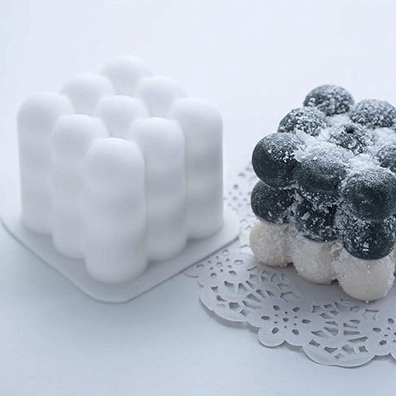 3D Kerzenform Silikonform Silikon Kerzen Gie/ßform Craft DIY Silikon Kerze Formen F/ür Handwerk S/ü/ßigkeiten Dekorieren