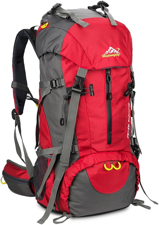 SKYSPER Wanderrucksäcke 50L 50L 50L Trekkingrucksäcke Wasserdicht Reiserucksack Camping Outdoor Wandern Rucksack B072NBB8KB  Am praktischsten 915a10