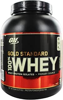 Gold Standard 100 Whey Protein Chocolate Malt (5 Lbs. / 73 Servings)