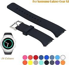 Cyeeson Samsung Gear S2 SM-R720/R730 Smart Watch Replacement Band, Accessory Soft Silicone Gel Wristband Strap Smartwatch Band for Samsung Galaxy Gear S2 SM-720/SM-730 Sport Smartwatch
